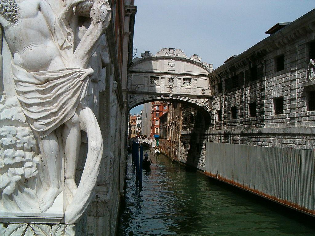 Puente De Los Suspiros Venecia Viajar A Italia