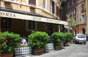 Restaurante Trattoria dell Pallaro en Roma