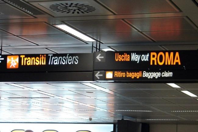 Aeropuerto de Roma-Fiumicino: Salidas de vuelos