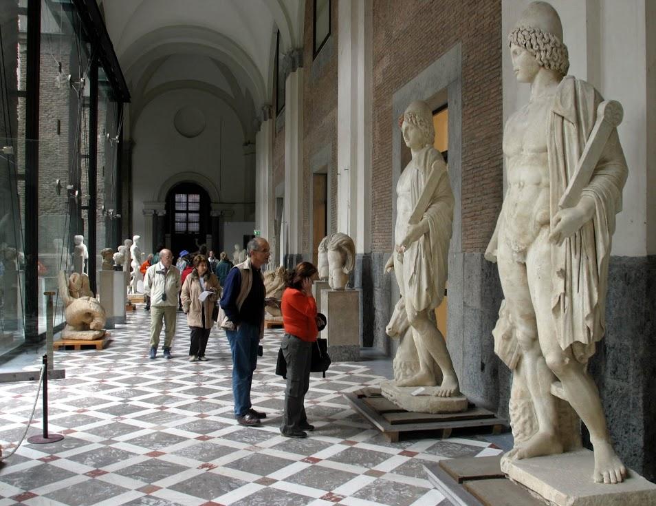Museo Arqueologico Nacional De Napoles Viajar A Italia