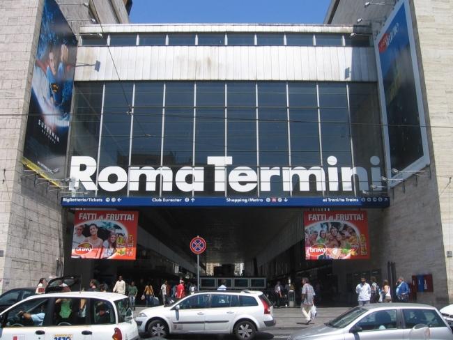 Estación Roma Termini
