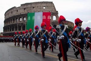 Desfile por la Fiesta de la República - Roma