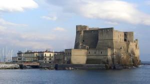 El castillo con el burgo marinero. 30 March 2006