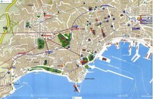 Mapa de Nápoles