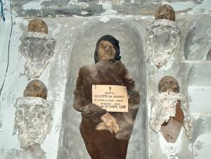 Silvestro da Gubbio, primer fraile embalsamado.