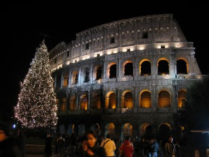 Navidad en Roma - Coliseo  de Roma