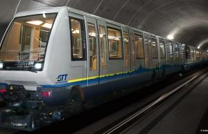 Metro en Turín
